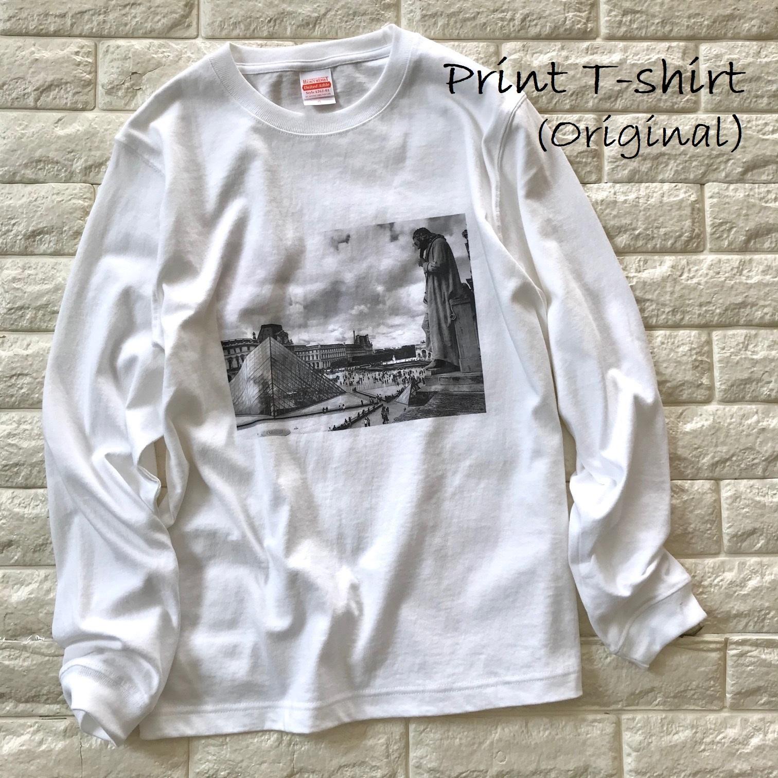 自作のプリントTシャツ画像