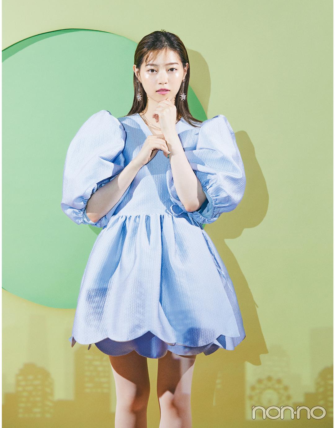 【西野七瀬のドレスでまちぶせ vol.1】DREAM sister janeのミニドレス_1_2