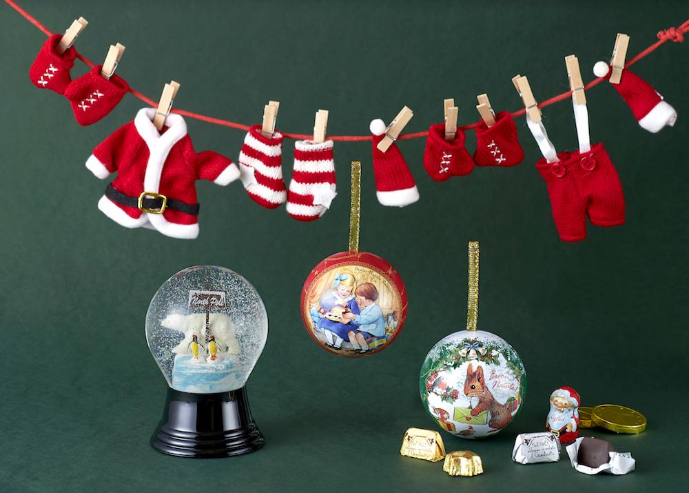 可愛らしいアイテムをお部屋にデコレーションして、クリスマスムードが満喫!