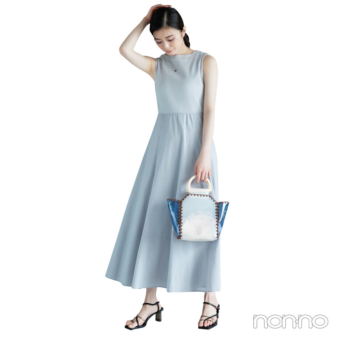 紺野彩夏の透明感フェミニンな彼女の場合。カット2-2