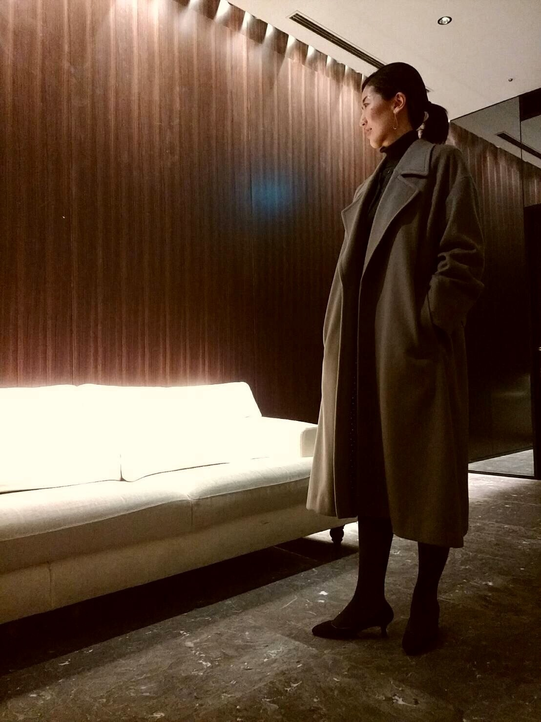 Plageのロング丈コートで冬を乗り切る_1_4