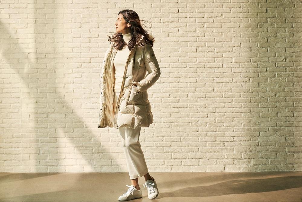 ファッション FERVORのダウン