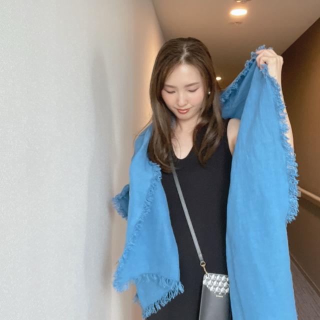 UNIQLO and Mame Kurogouchiのワンピースに合わせたいストール_1_3