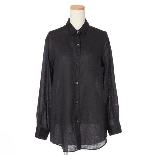 リラクシーな中に女らしさを感じさせて「Deuxième Classe」のリネンシャツ&プリーツパンツ_1_3