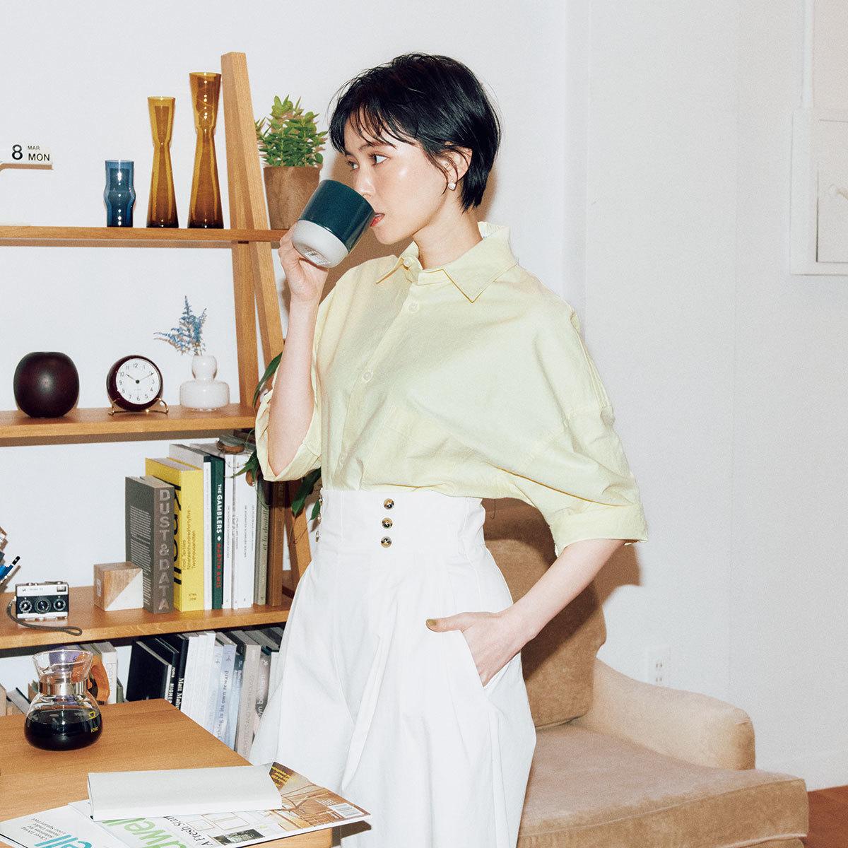 リモートトップス「シトラスカラーシャツ」1