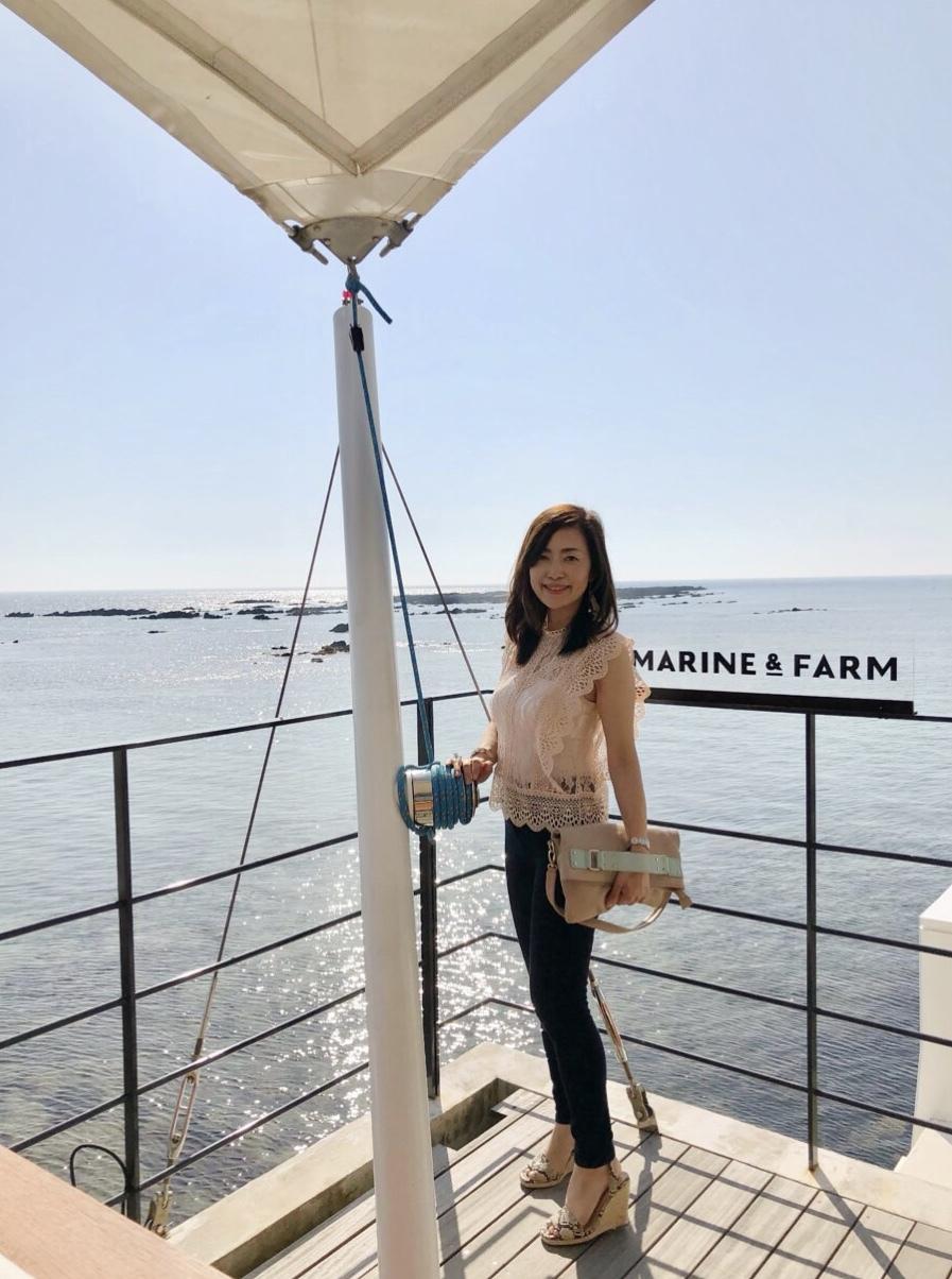 ZARAの夏コーデで海辺のレストランへ☆_1_7