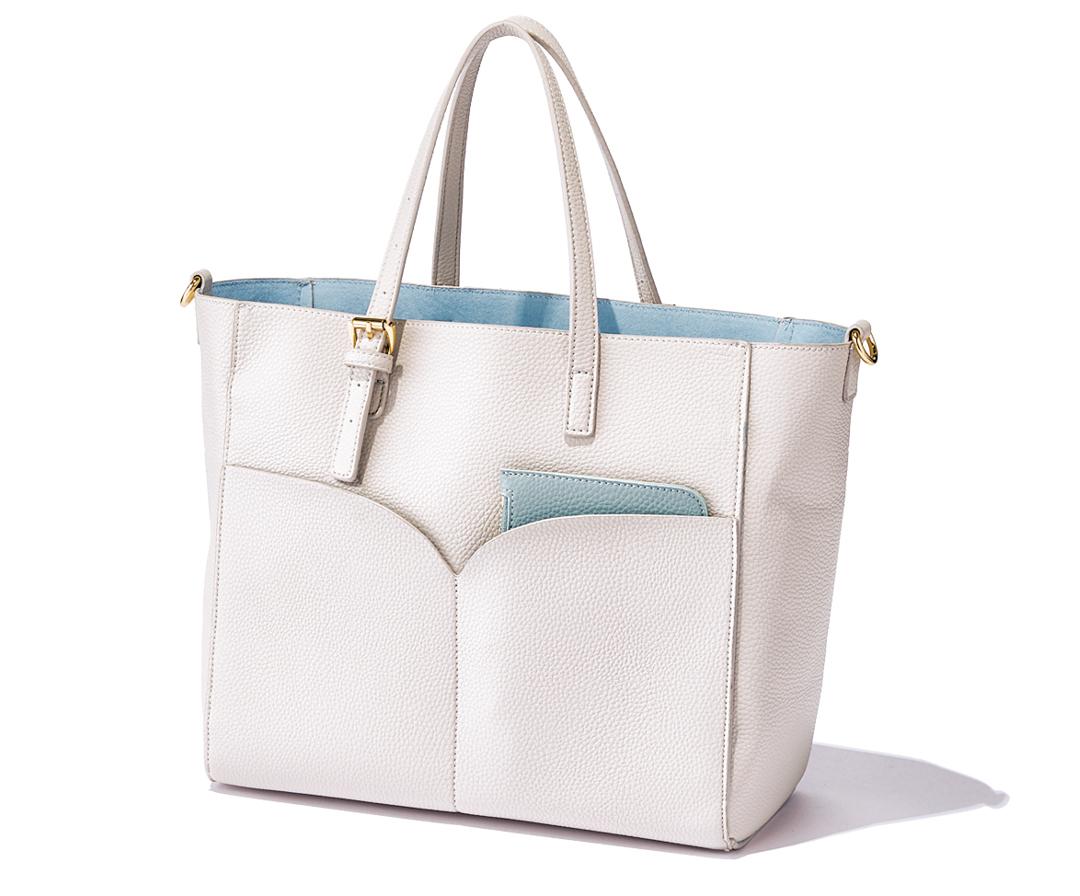 A4ほぼジャストのバッグ★ かしこ可愛いフェミニンカラー5選!【通勤バッグ&通学バッグ】_1_10