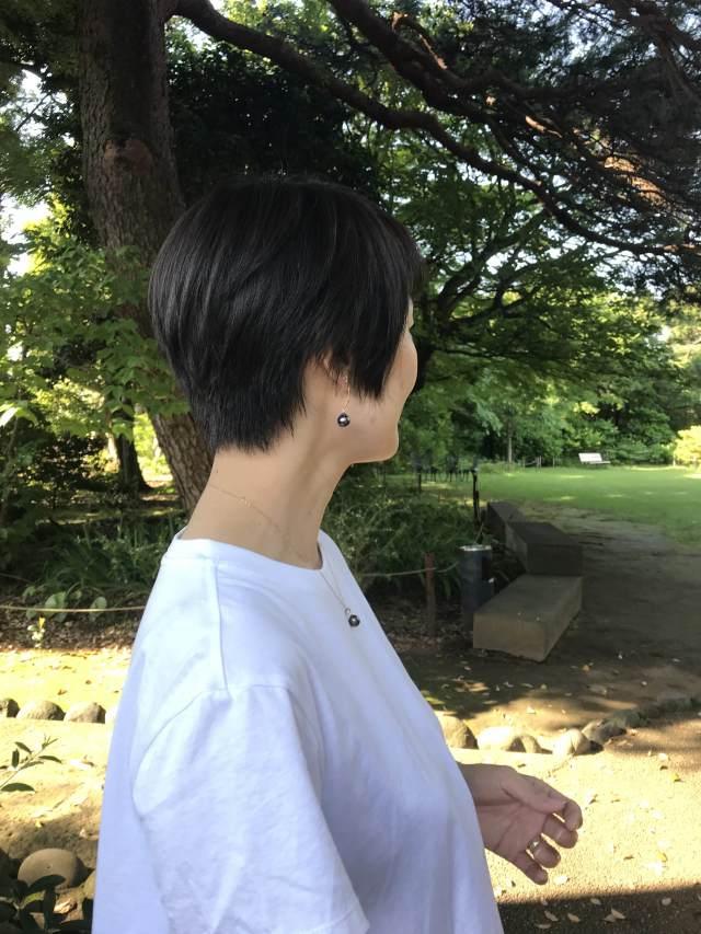 ハンサムショートにヘアチェンジしました♡_1_1-2