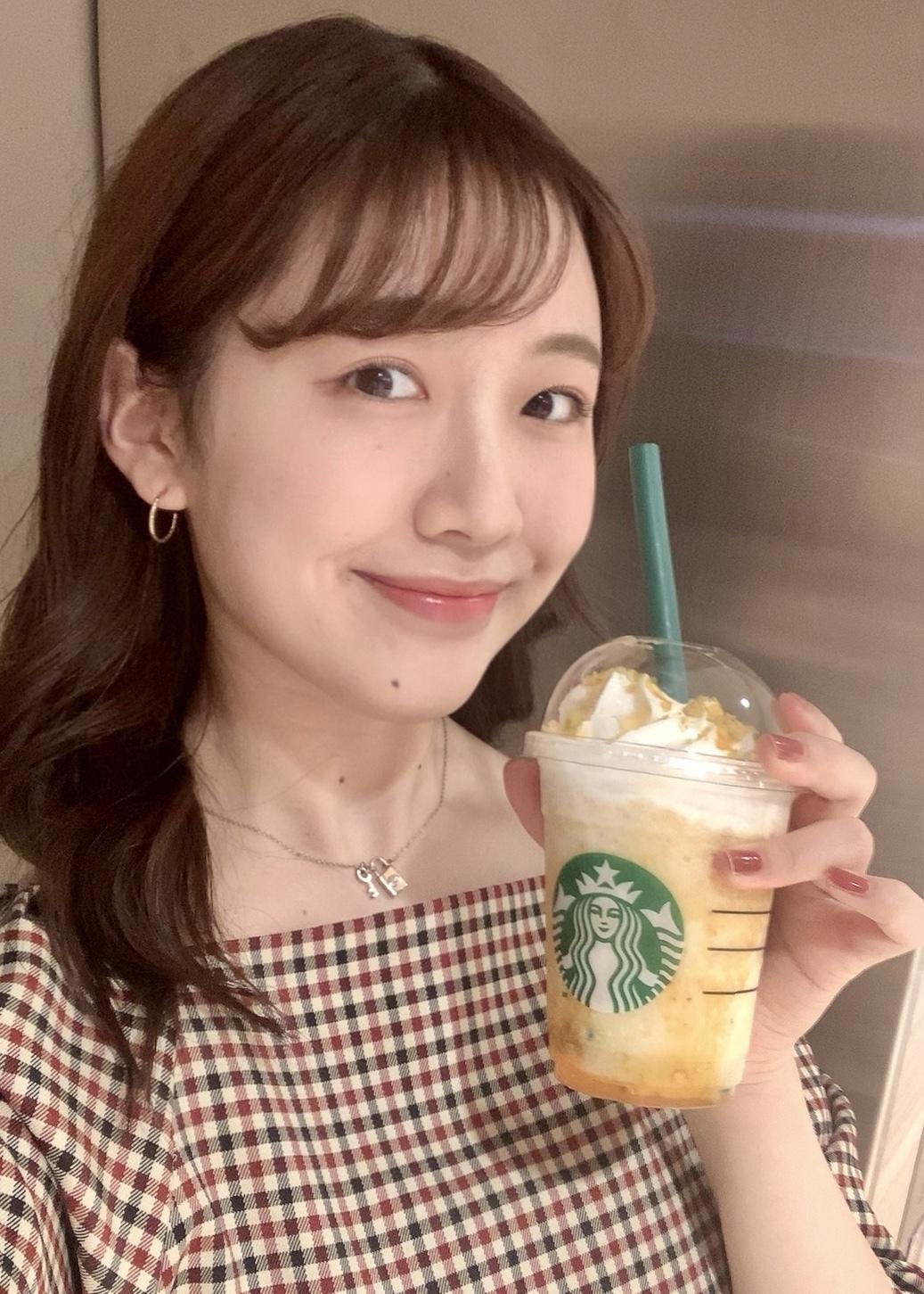【スタバ】14日発売のオータムスイートポテトフラペチーノを飲んでみた!!_1_1
