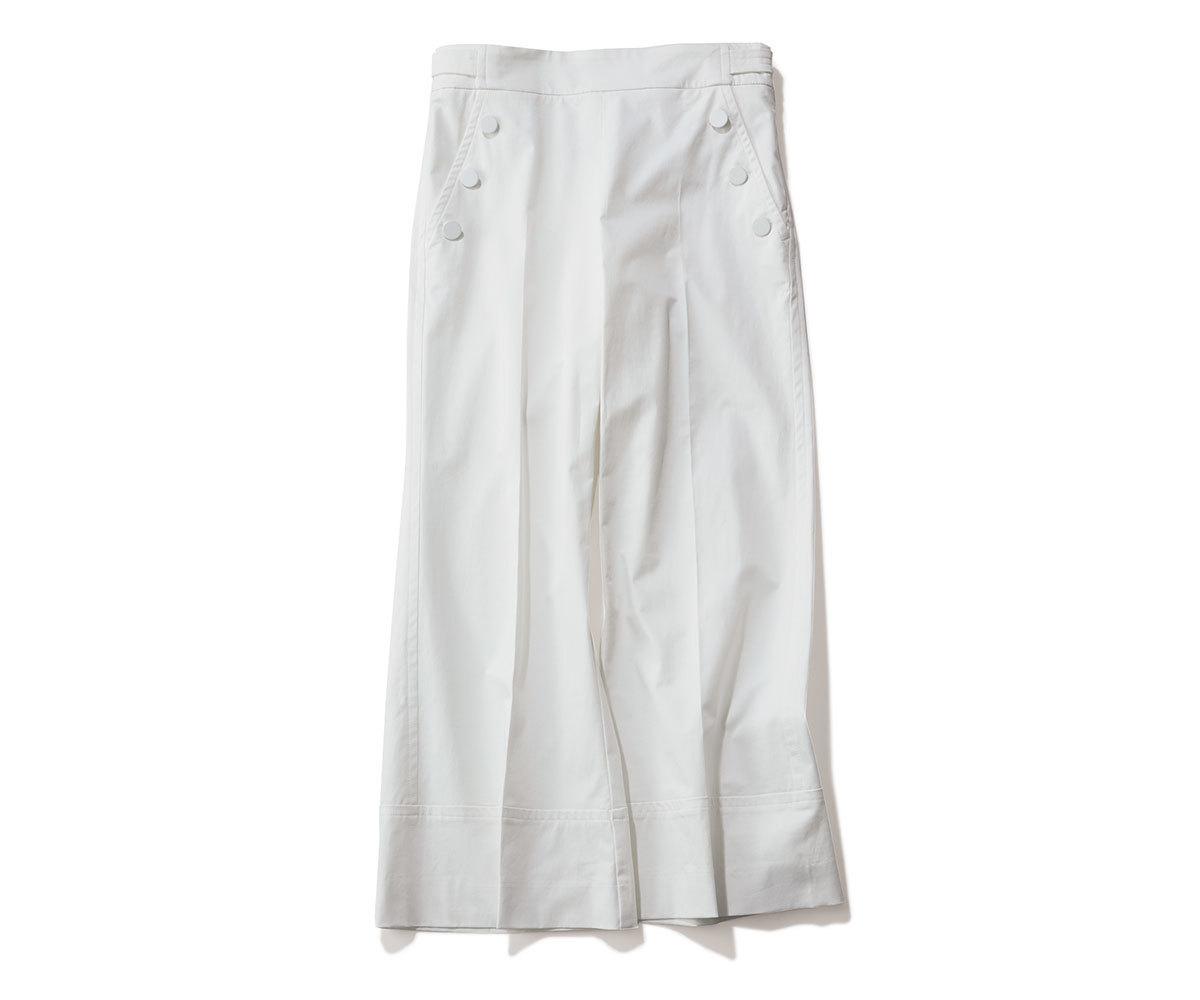 40代ファッション2019年夏のお買い物_MARELLAのセーラーパンツ