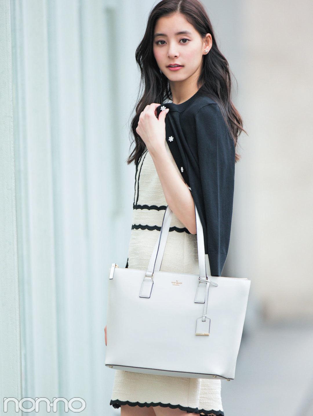 憧れブランド「ケイト・スペード ニューヨーク」の最新A4対応バッグ☆_1_1