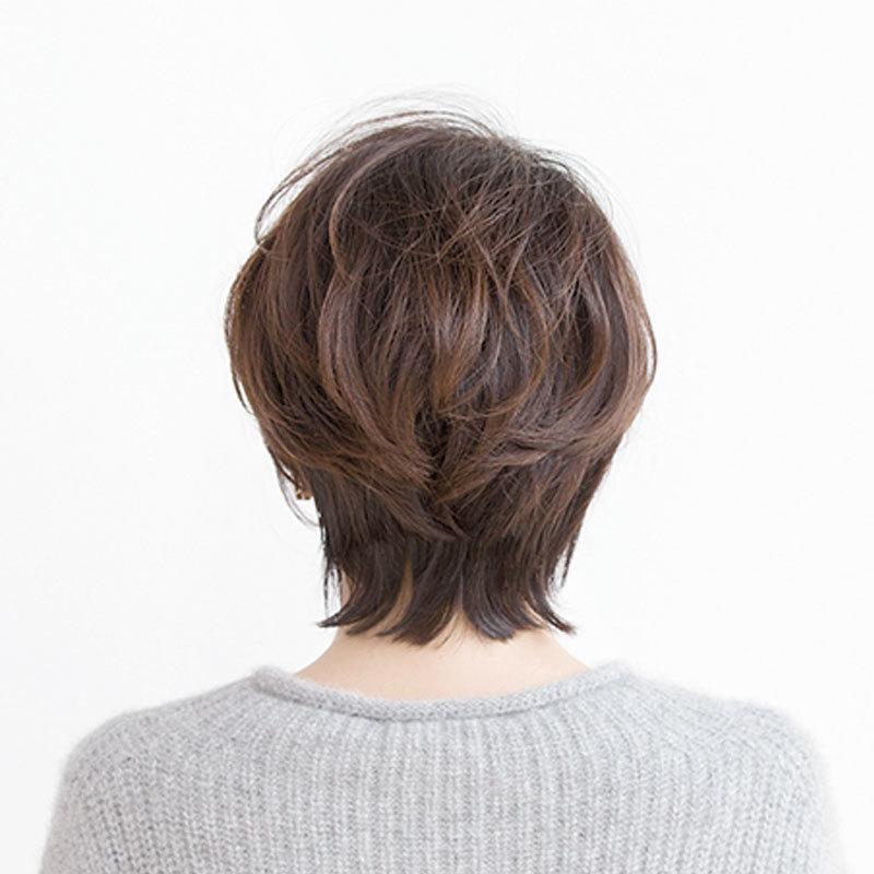 40代に似合う髪形人気ショートヘアスタイル1位