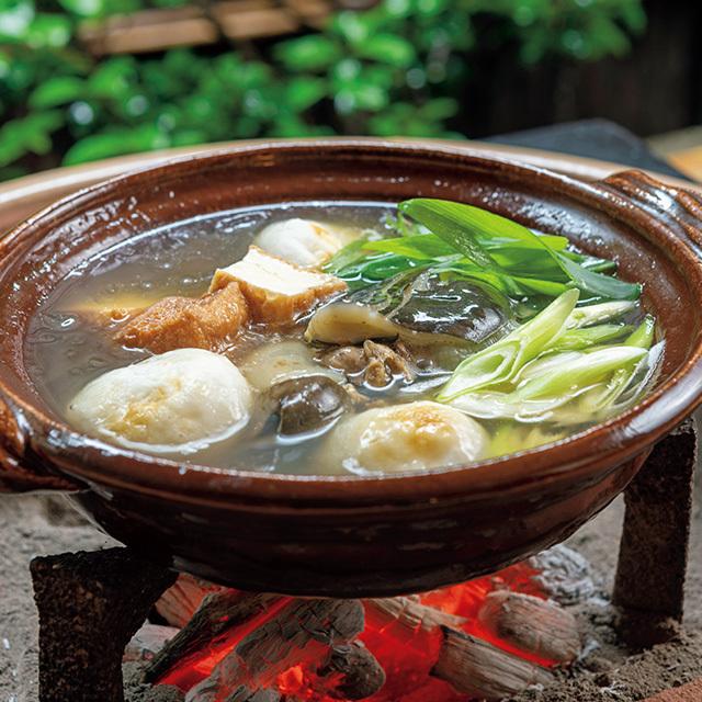 祇園 丸山の「すっぽん鍋とかやくご飯のセット」