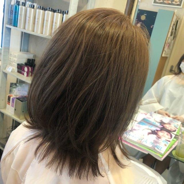 伸ばしかけヘアをくびれヘアスタイルですっきりと!_1_1-3