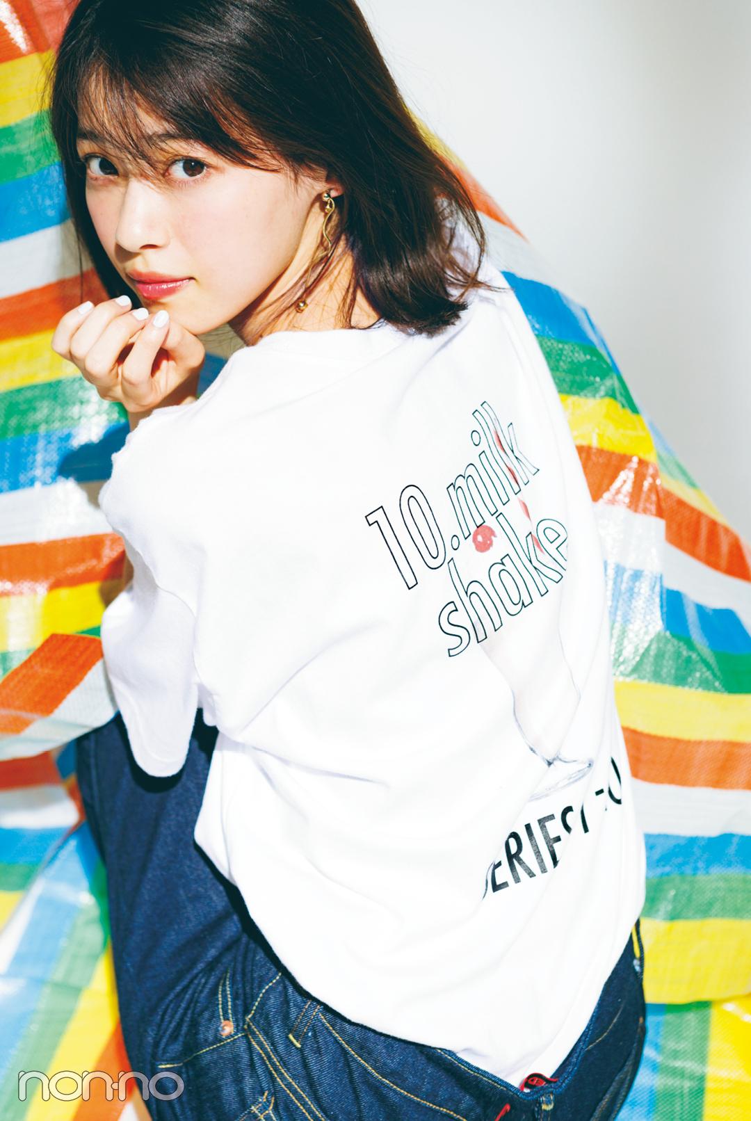 Tシャツなのに女っぽいの秘密★今季トレンドの正解教えます!_1_4