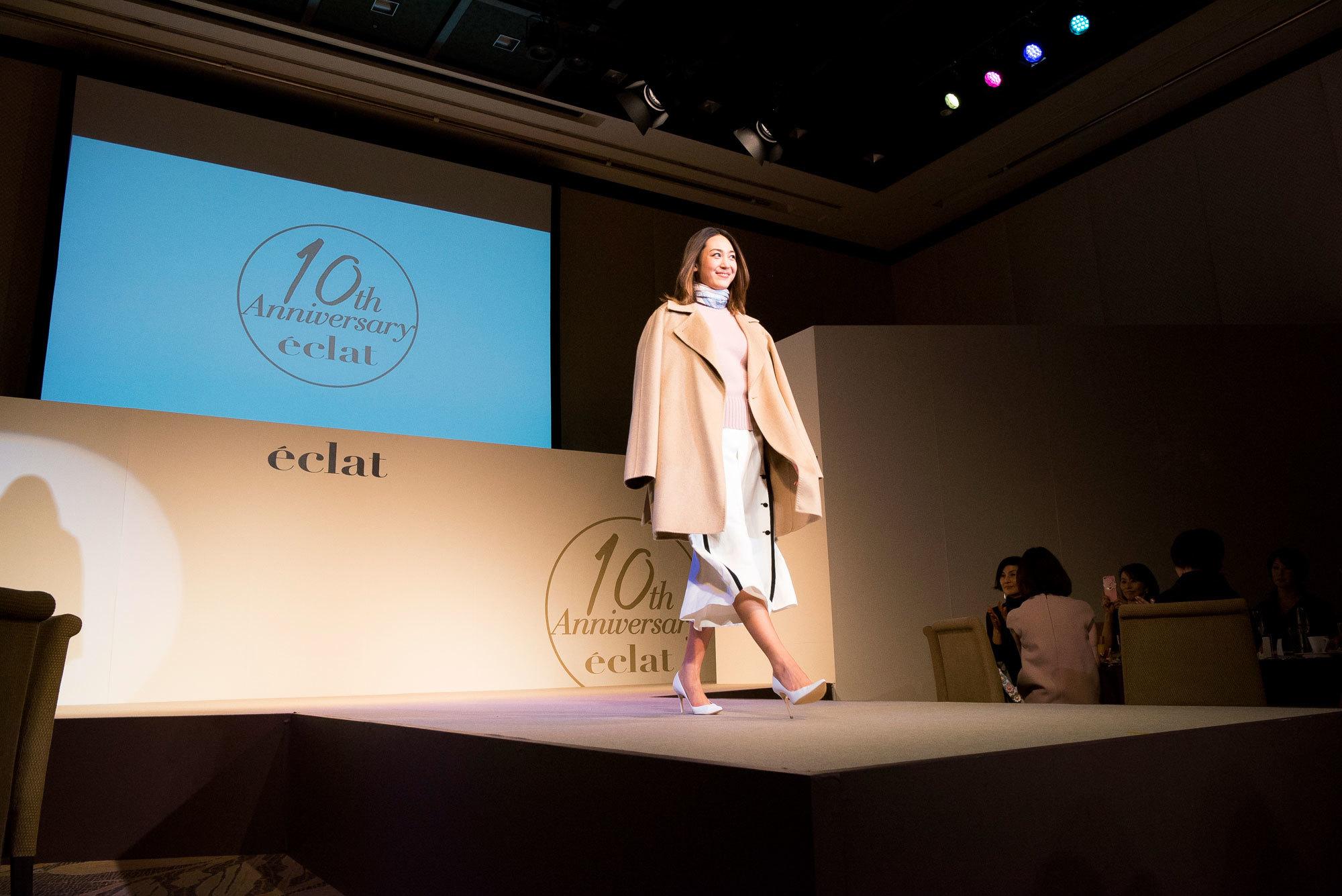 エクラモデルによる、あの人気ブランドのショーを目の前で! ファッションフロアショー_1_1-5