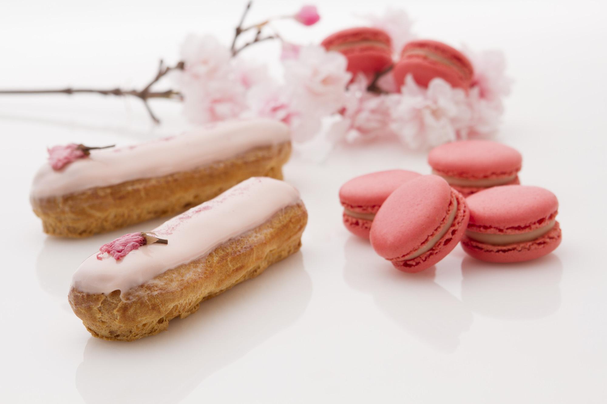 ピンク色で幸せ気分に! 春限定の桜スイーツ