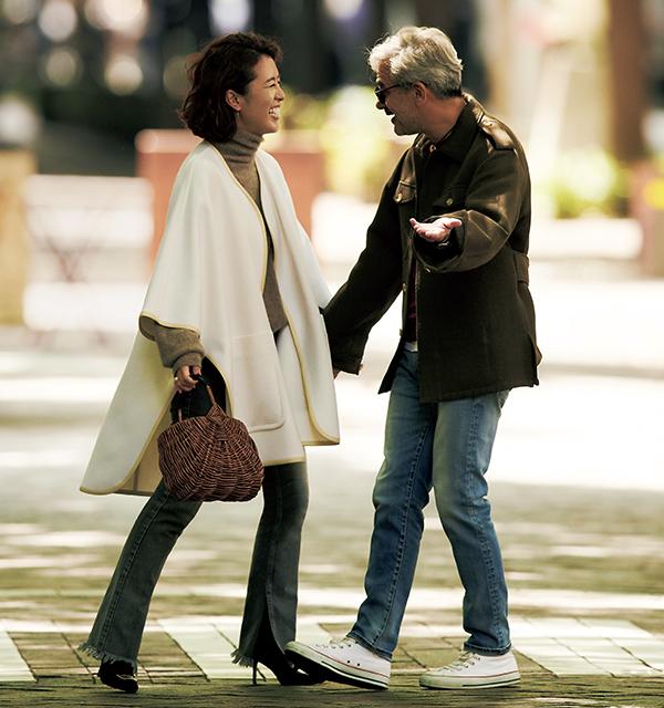 人気スタイリスト 大草直子のショッピング&ランチのときの休日ファッションコーデ