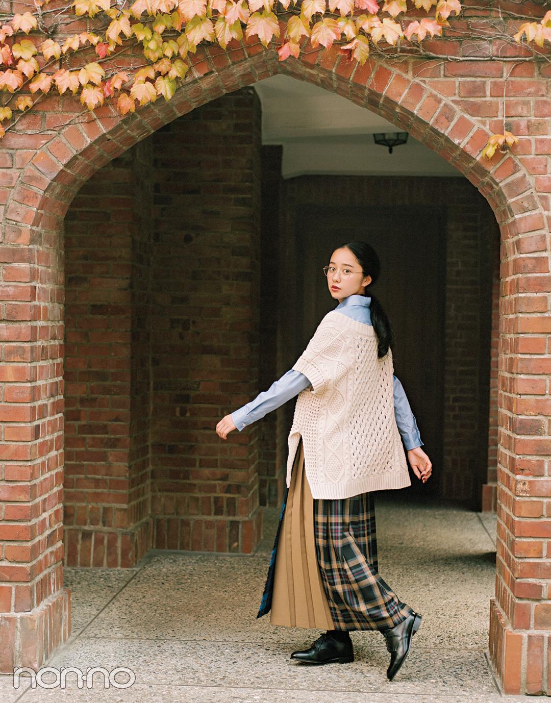 おしゃれで話題の女優・堀田真由がモデルに挑戦★ 英国ガールに変身! _1_2