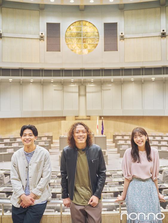 舞台は選挙で選ばれる都議会議員が働く東京都議会議事堂!