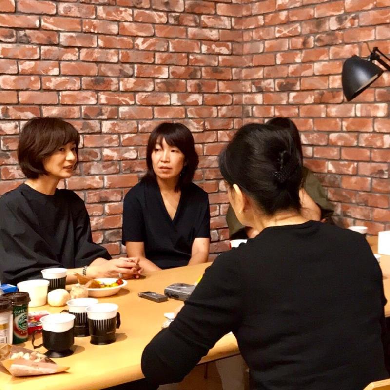 [富岡佳子private life]朝日新聞ボンマルシェ_1_1