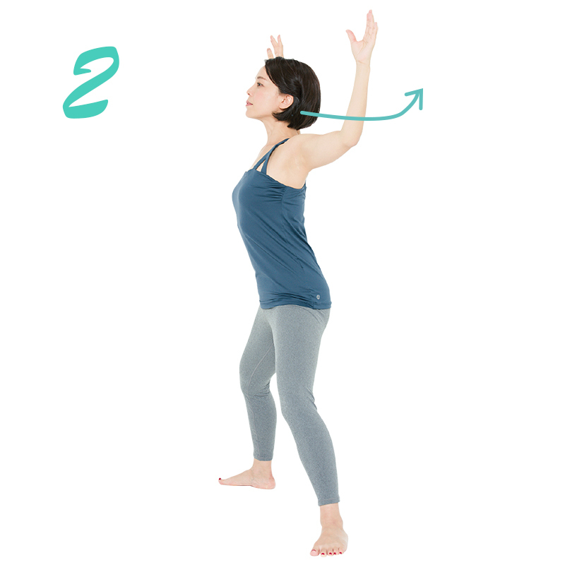 肘の開閉エクササイズ2