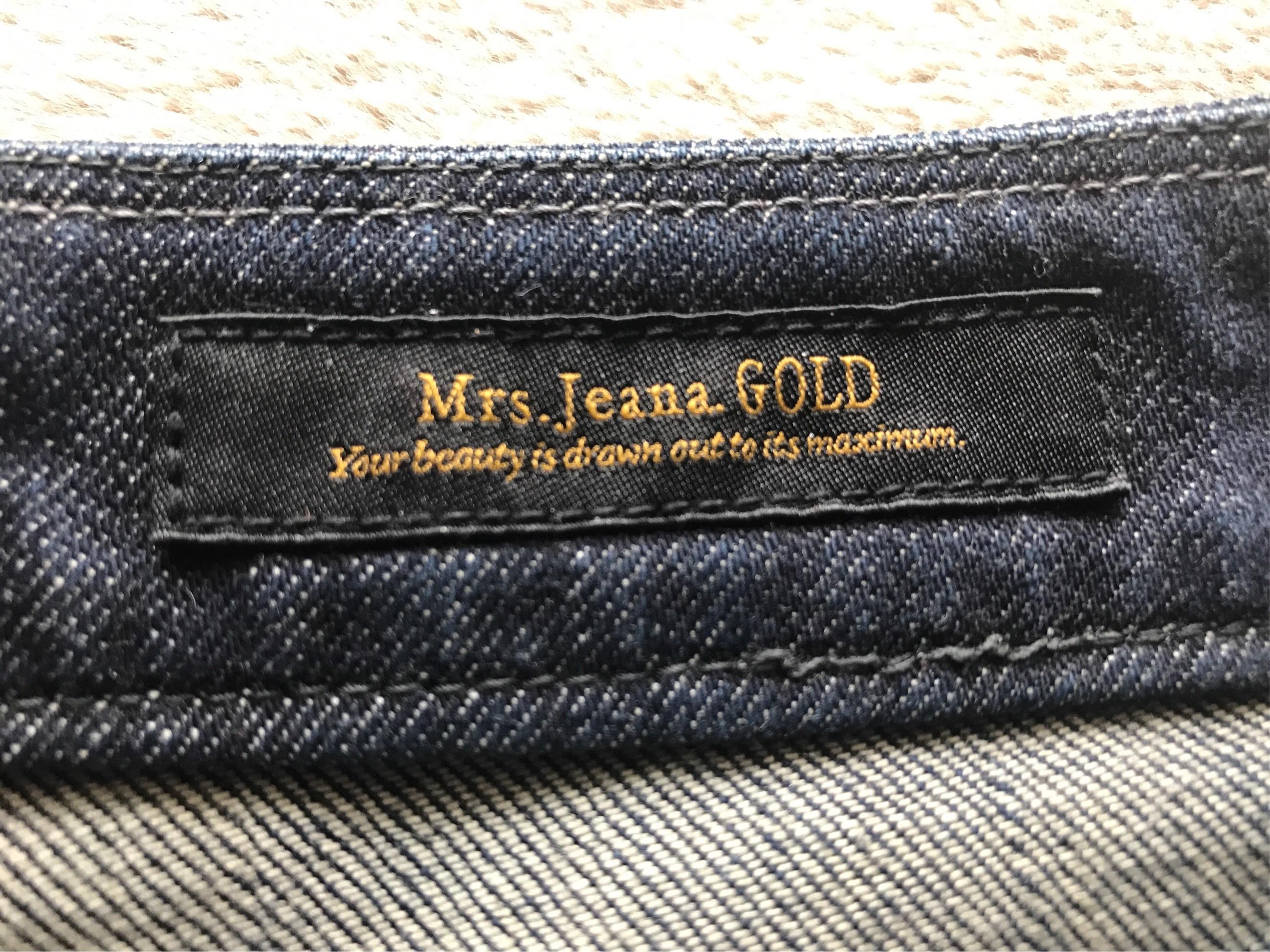 地曳いく子×Mrs.Jeana(R)GOLDのニューボーイフレンドジーンズ_1_3