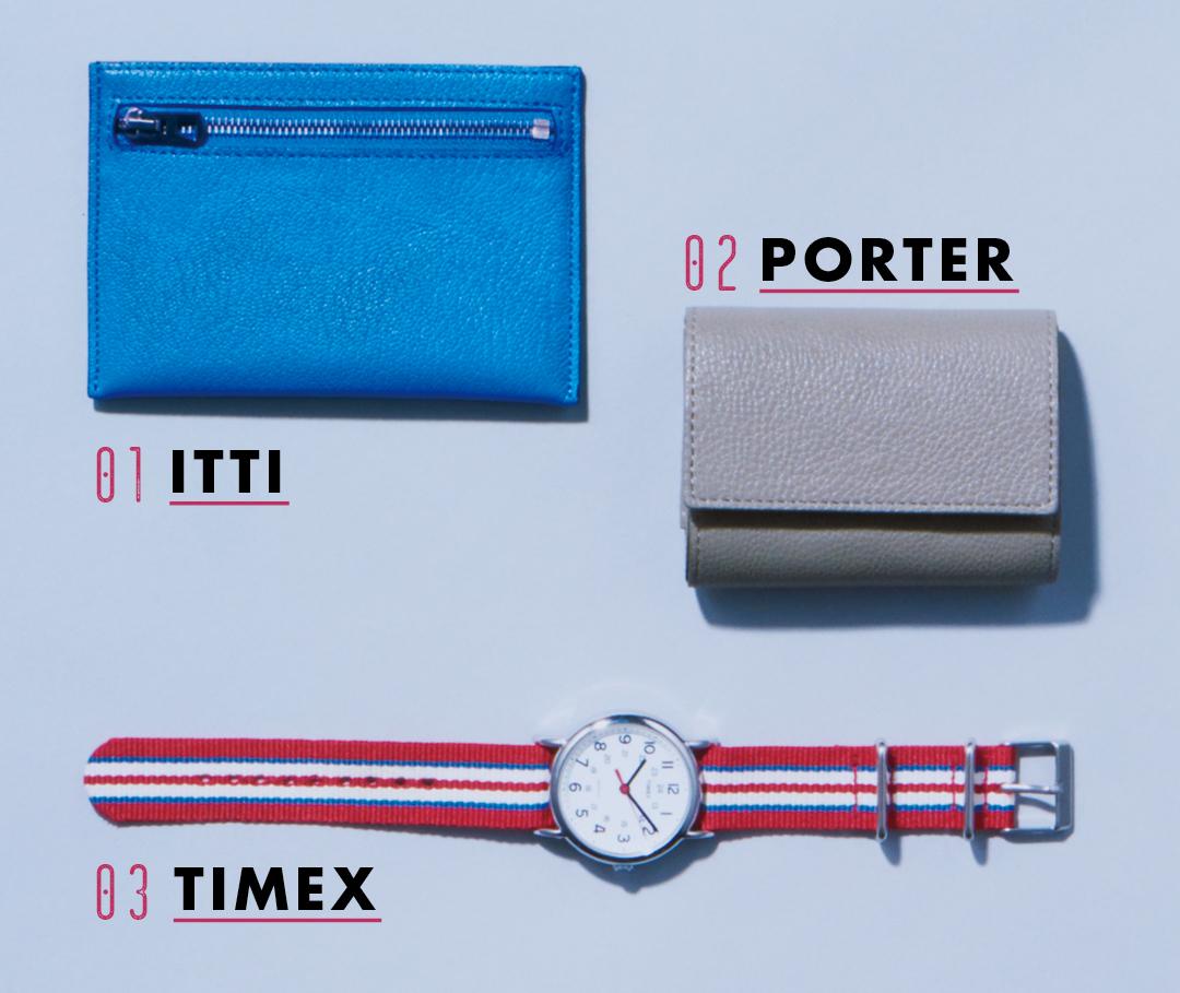 01 ITTI 02 PORTER 03 TIMEX