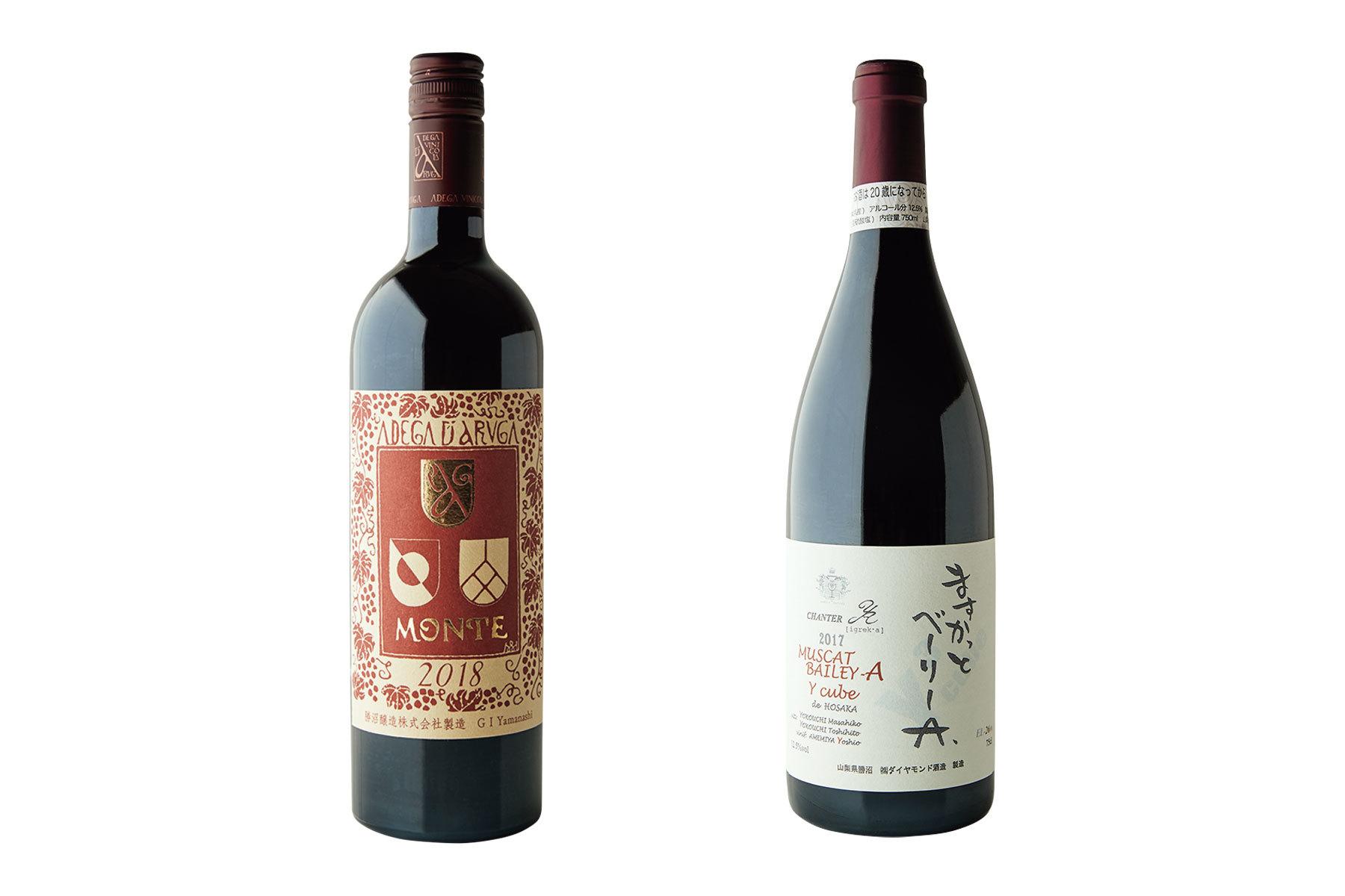 マスカット・ベーリーAのワイン