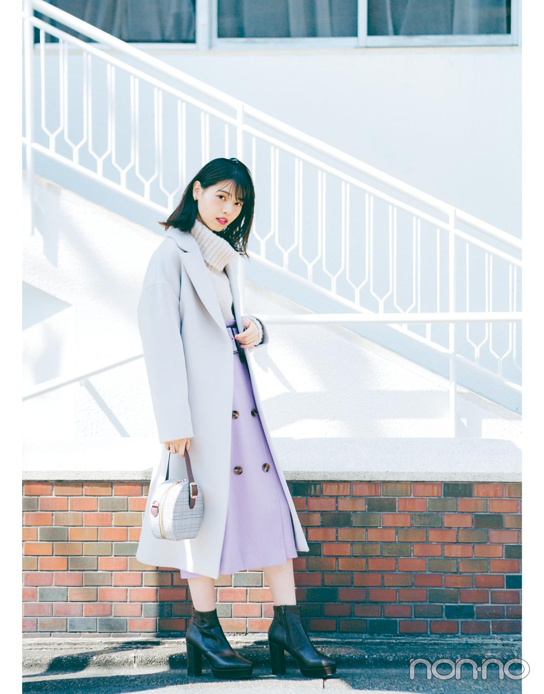 2019冬フェミニン派はコレを着る♡ 西野七瀬の冬のイベント映え着回し15days!_1_2