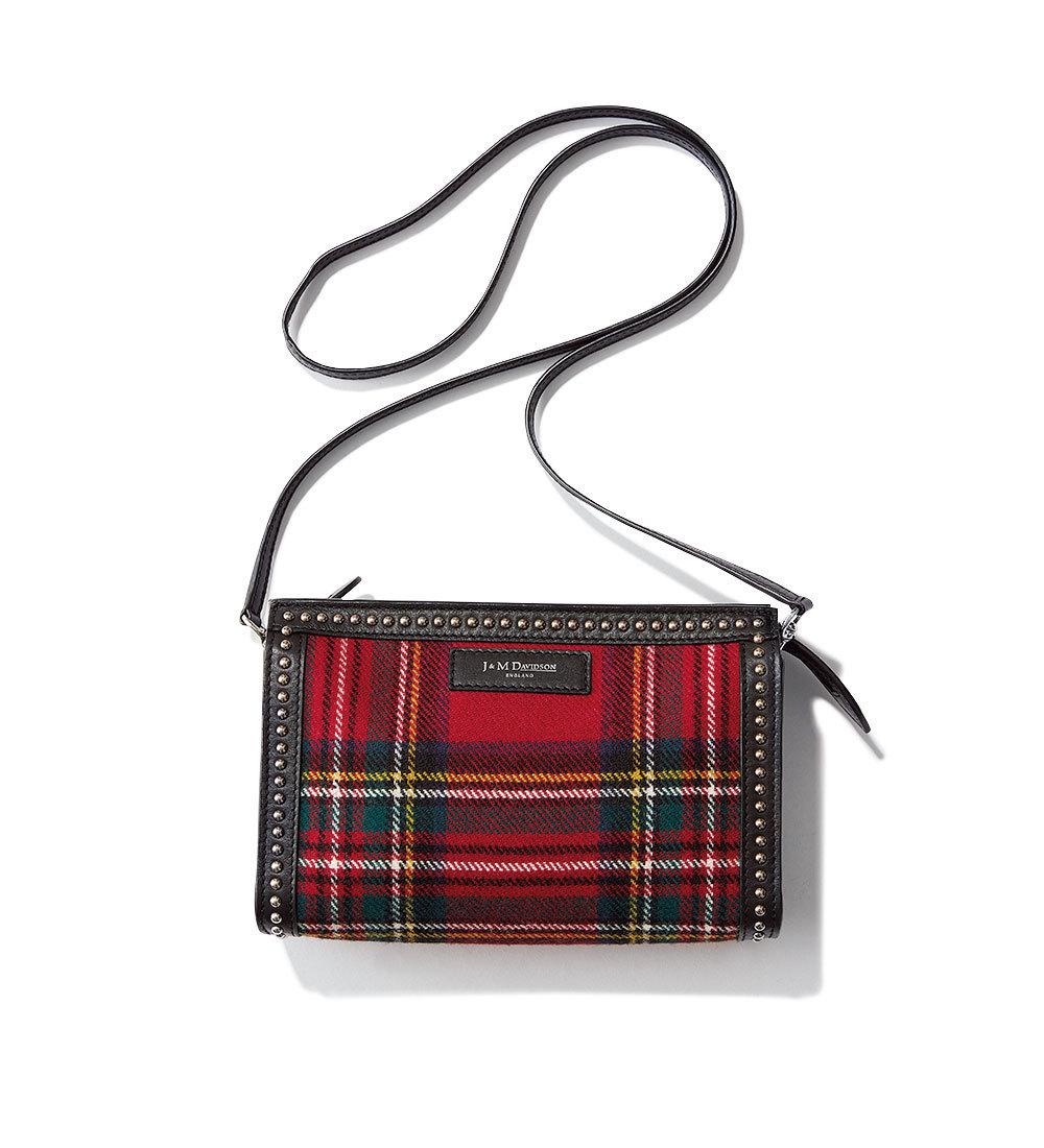 ファッション 秋トレンドのチェック柄バッグ