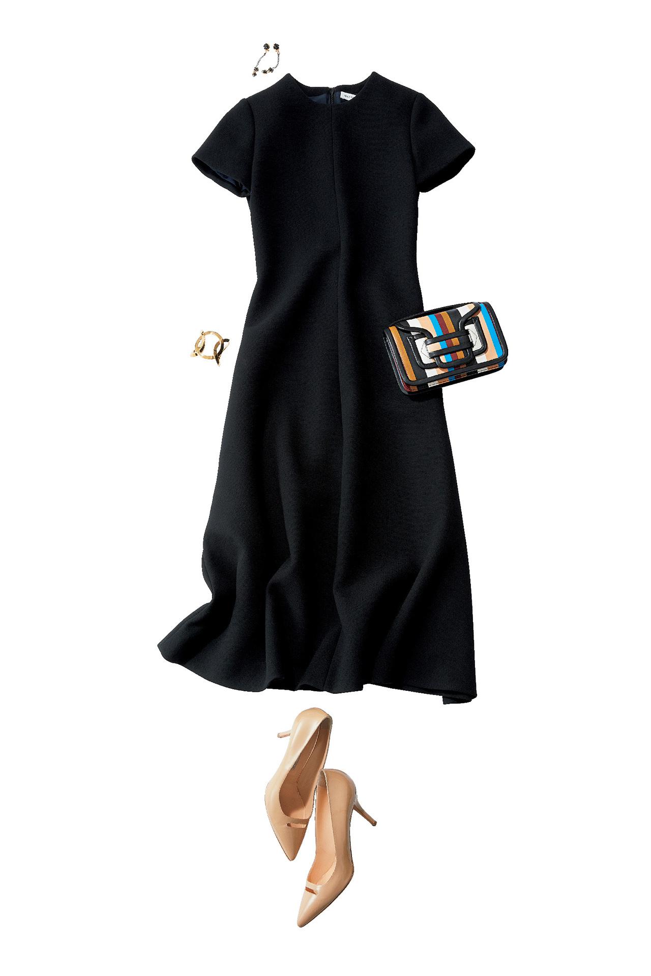 品のあるフェミニンワンピースで、好感度の高い同窓会ファッションに 五選_1_1-5