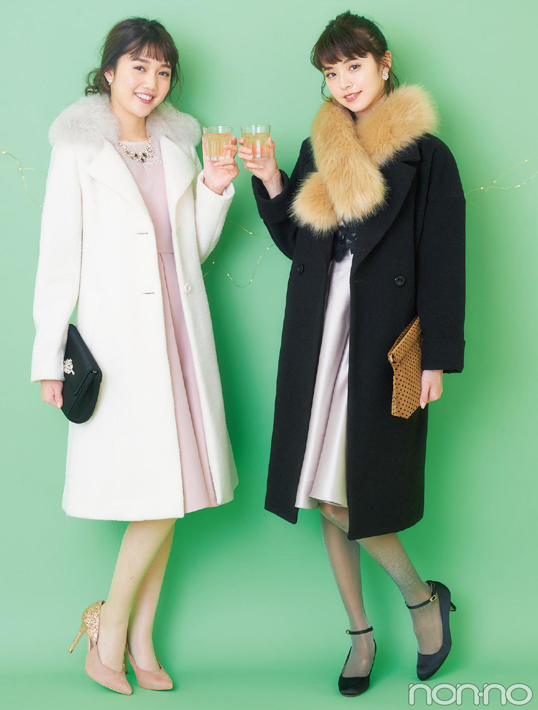 大学の謝恩会、服装どうする? ドレス+コートのモテコーデ教えます!_1_1