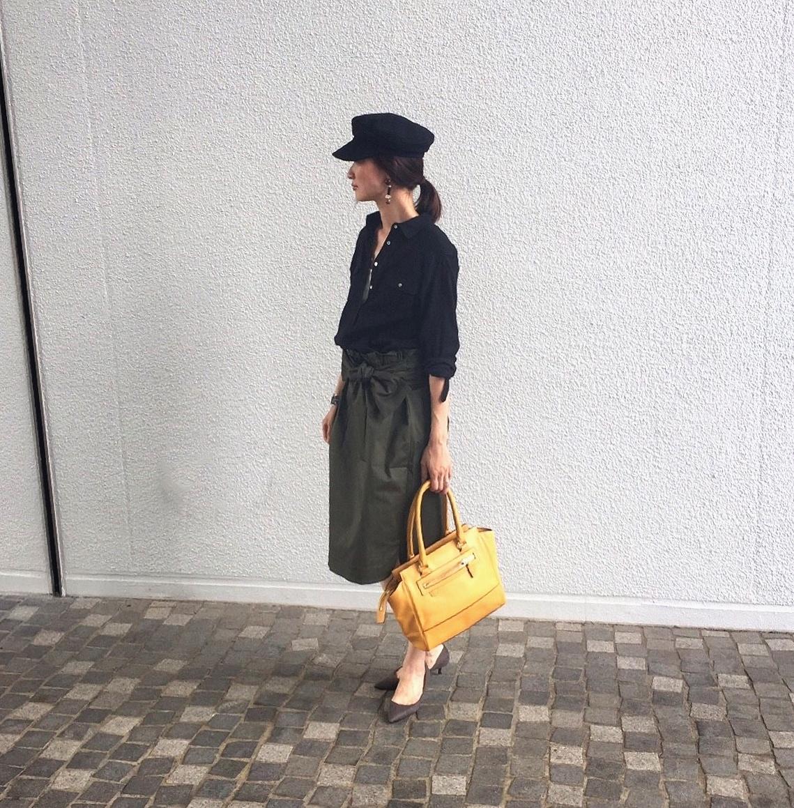 夏も後半。秋の気配を少しだけ感じさせる「黒」の着こなし【マリソル美女組ブログPICK UP】_1_1-1