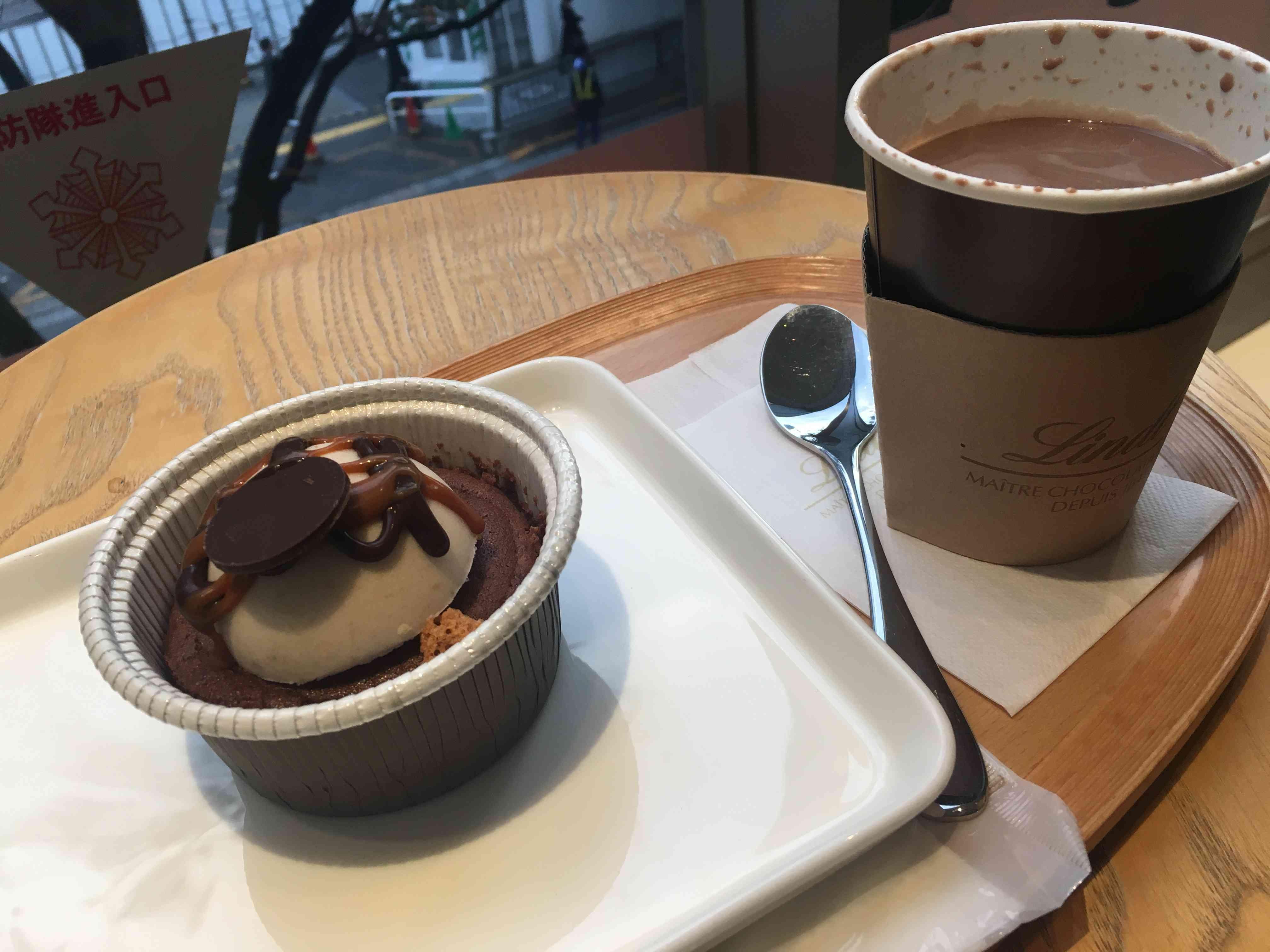 リンツの期間限定ホットチョコレートドリンク♡抹茶_1_4