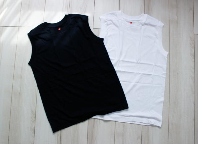 『Hanes』×『BIOTOP』ノースリーブTシャツで真夏を乗り切る♪_1_1