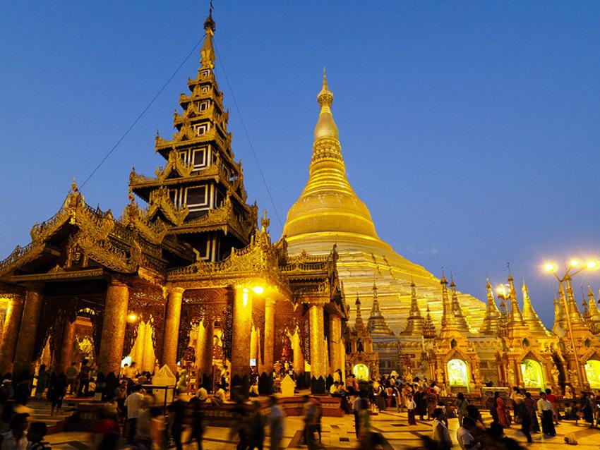 <ミャンマーの旅>黄金のパゴダと復活するコロニアル レガシー(ヤンゴン−①)_1_1
