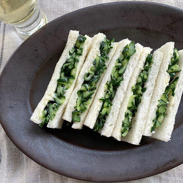 有元葉子さんの大反響メニュー!コリコリっとした食感とバターの組み合わせの「きゅうりサンド」_1_1