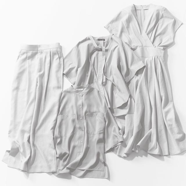 大人の身体をキレイに見せる服