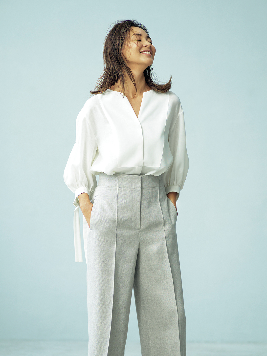 SHIHOが着るebureの自然体で着映える服_6