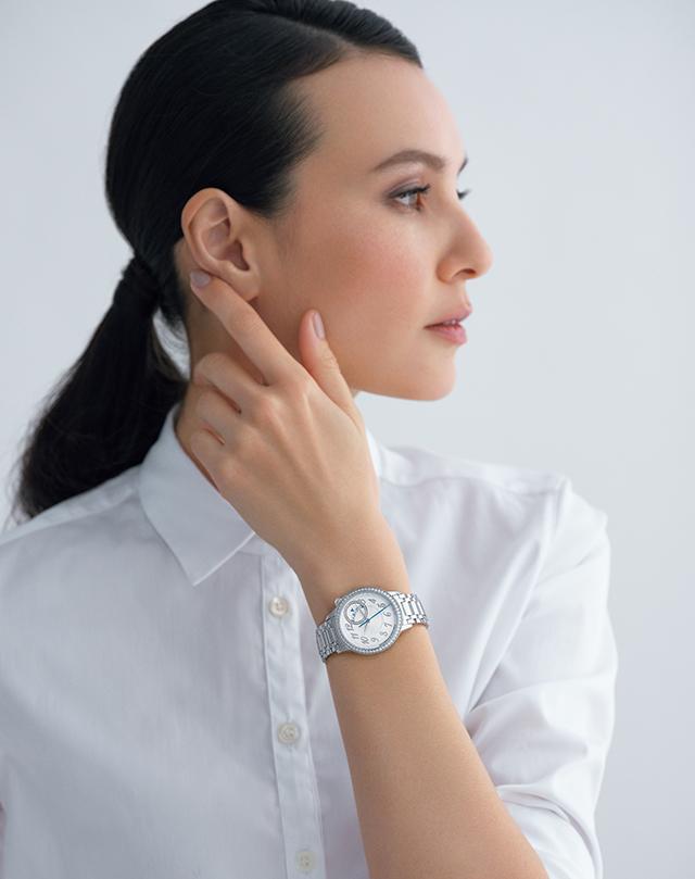 時計「エジェリー・オートマティック」(35mm径、SS×D、自動巻き)¥2,160,000[予価]/ヴァシュロン・コンスタンタン
