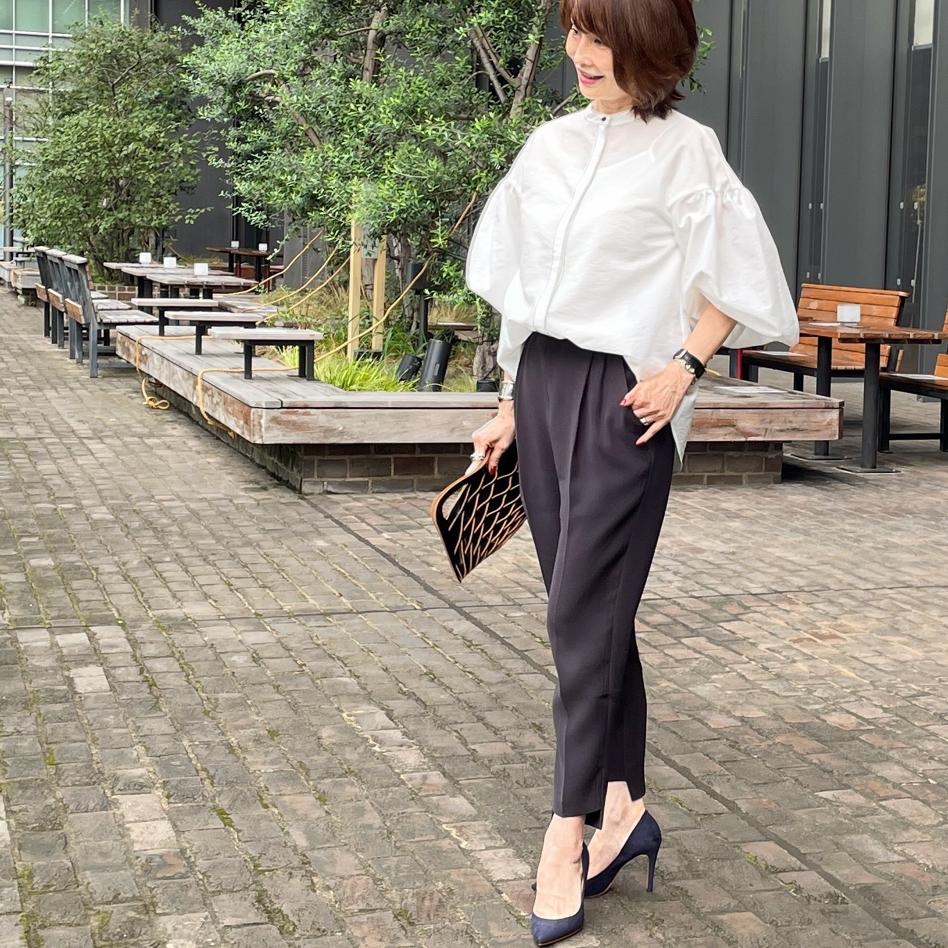 白シャツコーデ♡パンツとスカート _1_3