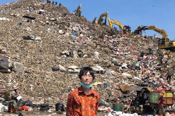 辻景太郎氏:ジャカルタ近郊 バンタルグバン廃棄物最終処分場