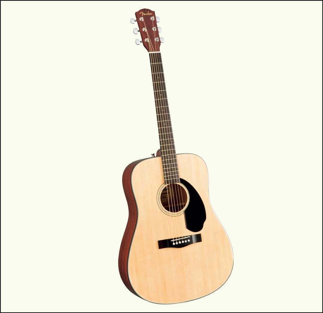 遠藤さくらの購入品Fenderのギター(CD-60S)6