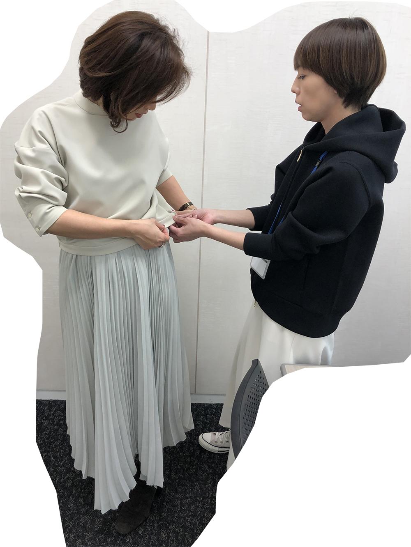 三尋木奈保さんのこだわり満載コラボアイテムのメイキングを公開! 2020春ファッション_1_1-2