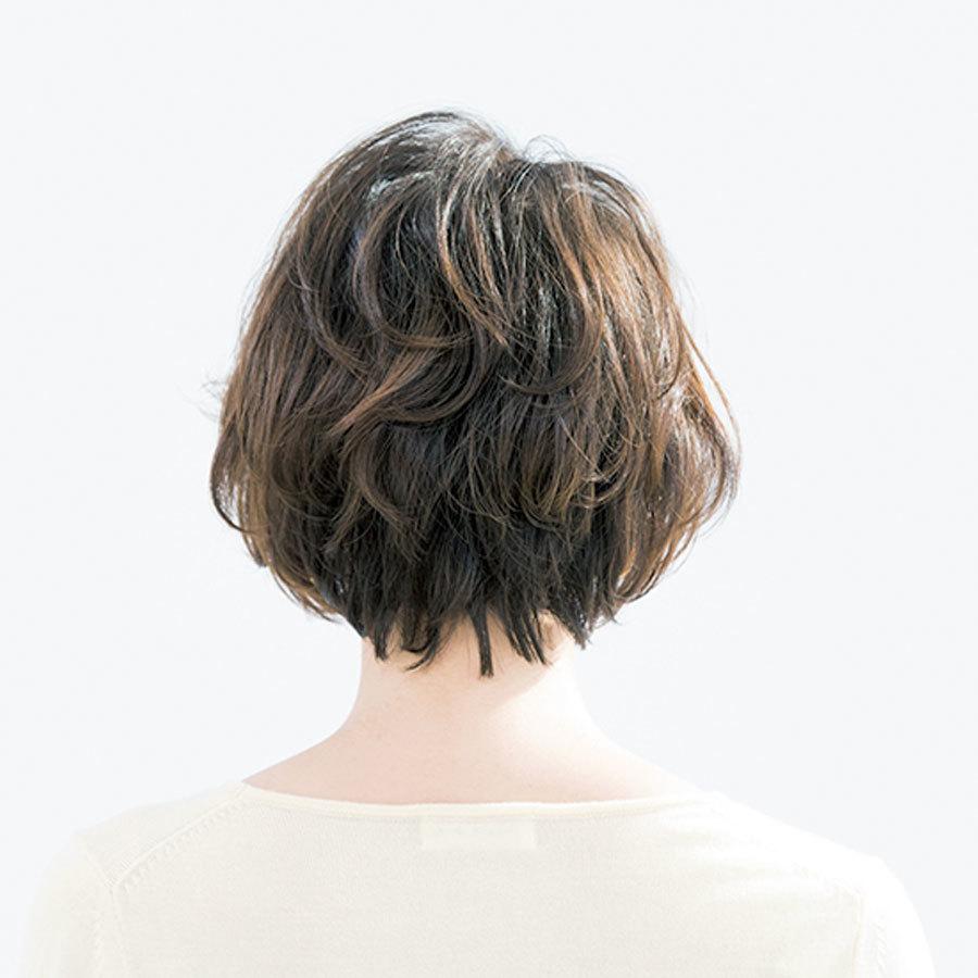 カール、フォルム……曲線だけで構成した女っぷりショート【40代のショートヘア】_1_1-3
