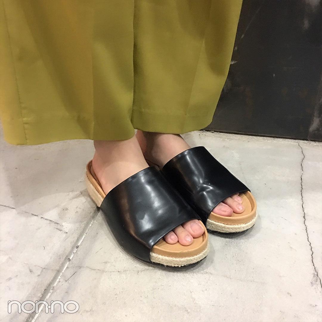 新川優愛の夏コーデ♡ FURFURのマスタード色パンツがさし色!【モデルの私服スナップ】_1_2-3