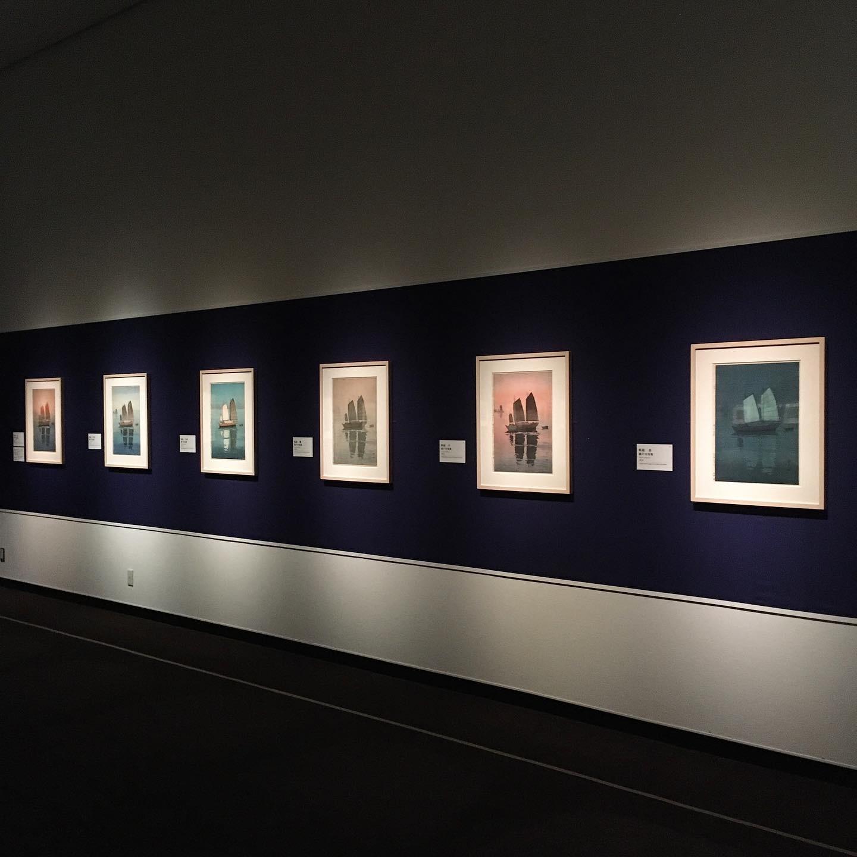 吉田博展で、木版画による世界旅行を。_1_1-2
