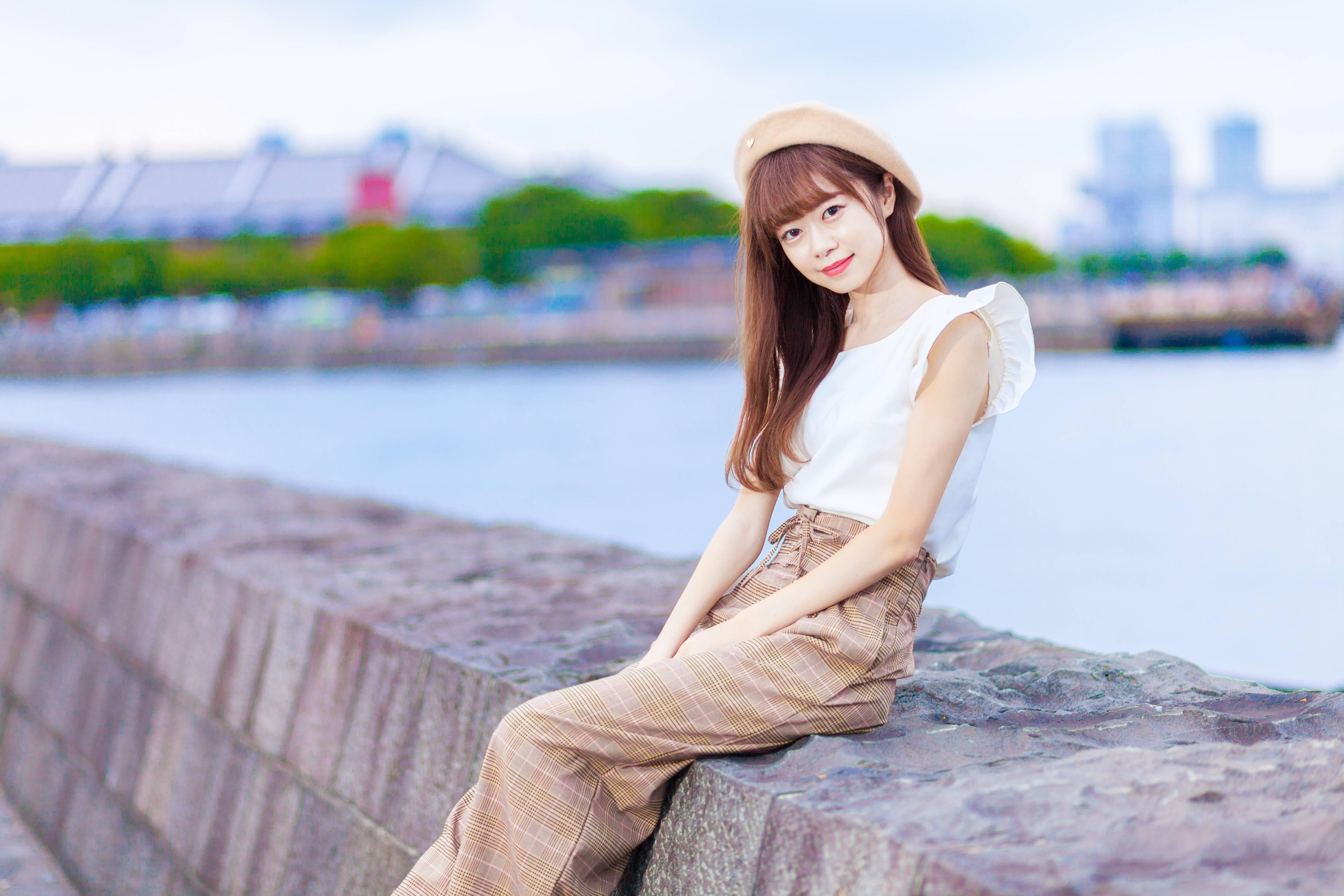 "Vol.26♡ 【non-no11月号掲載】《脚長》に見える""グレンチェック柄パンツ""_1_2"