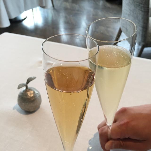 シャンパーニュで乾杯✨